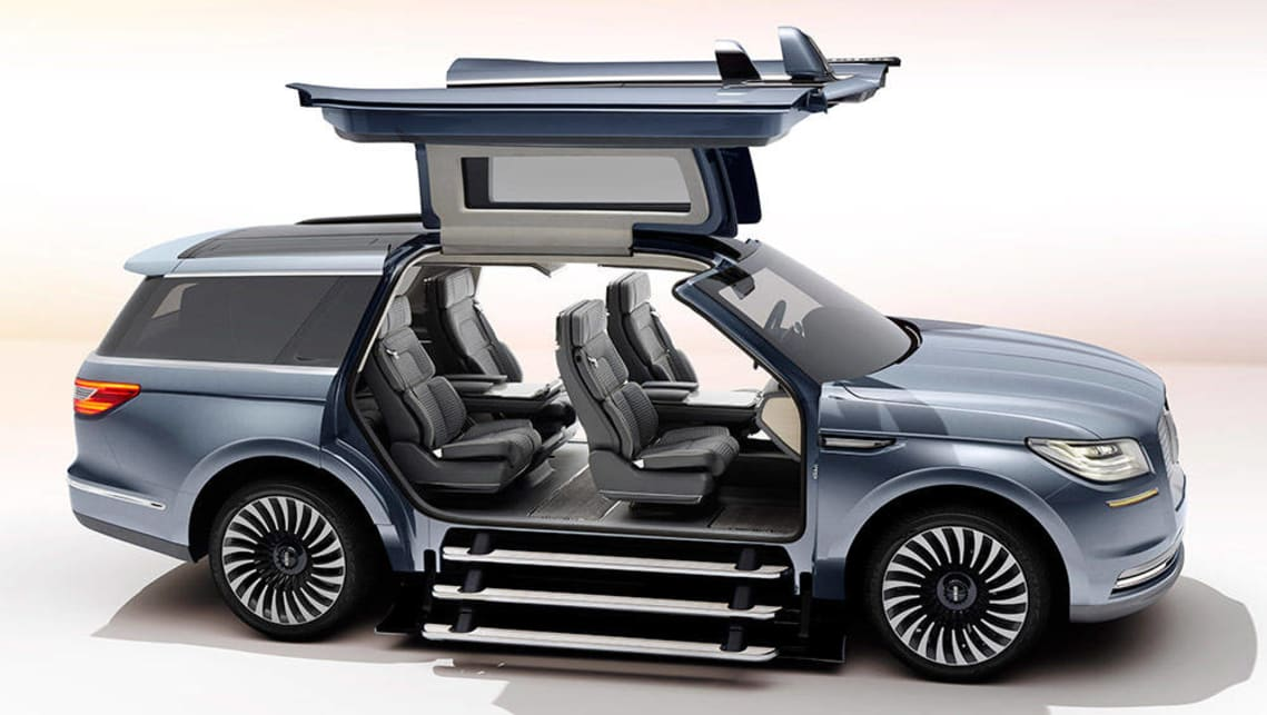 Ford Lincoln Navigator Concept Unveiled At New York Motor - Ford lincoln