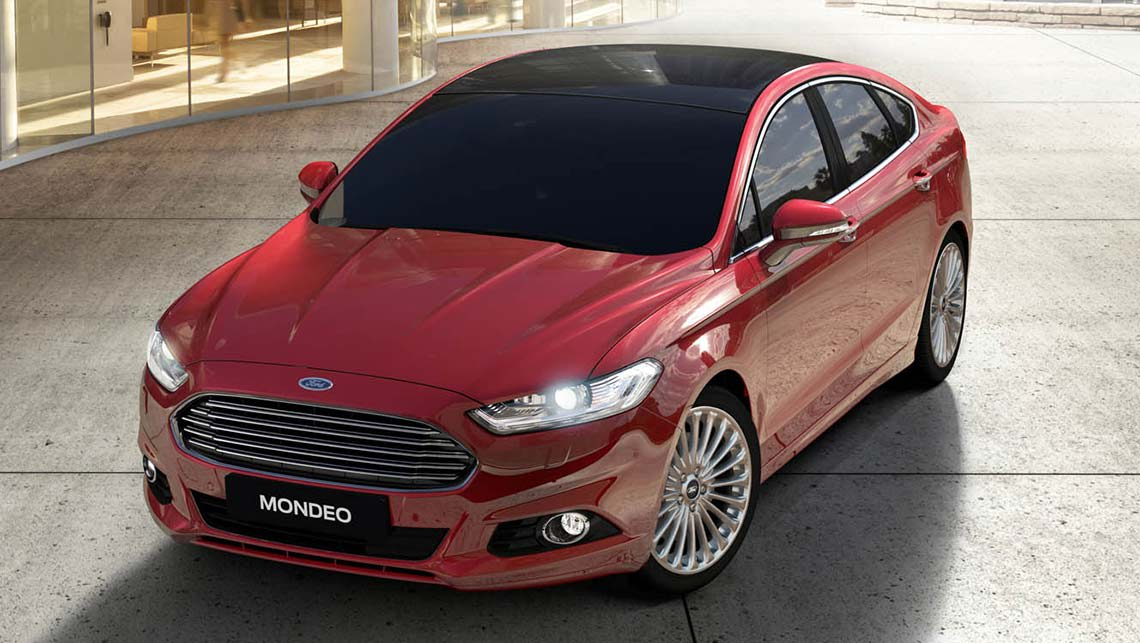 2015 Ford Mondeo hatch.