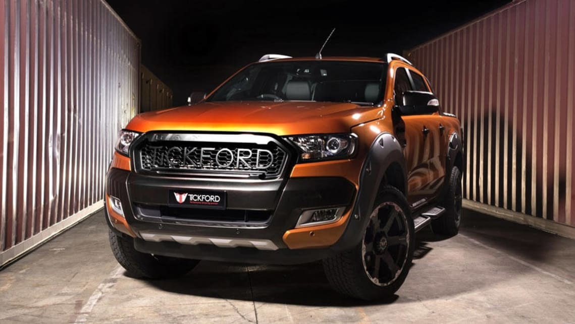 Tickford returns with tuned Ranger and Mustang - Car News ...