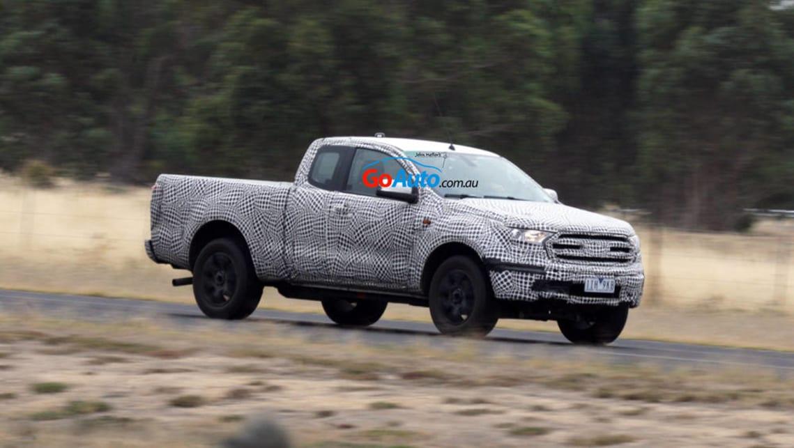 2018 Ford Ranger Single Cab >> 2019 Ford Ranger | spy pics - Car News | CarsGuide