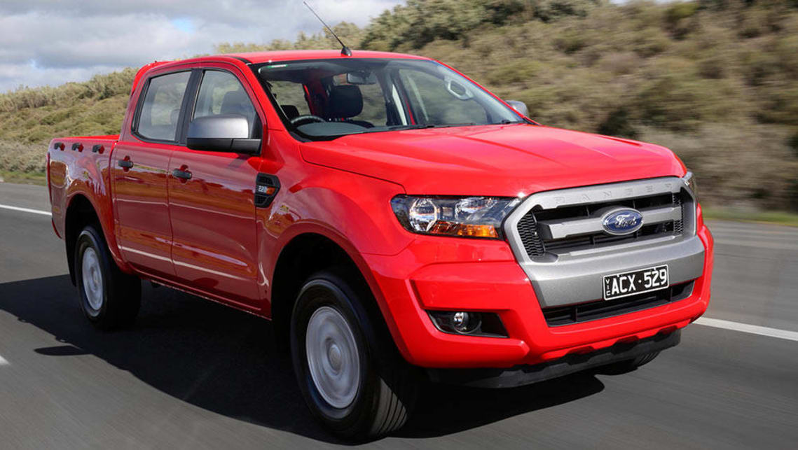 2016 ford ranger xls 4x4 2 2l auto dual cab review road test carsguide. Black Bedroom Furniture Sets. Home Design Ideas