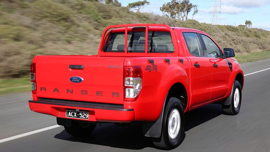 ford ranger xls 4x4 2 2l auto dual cab 2016 review carsguide. Black Bedroom Furniture Sets. Home Design Ideas