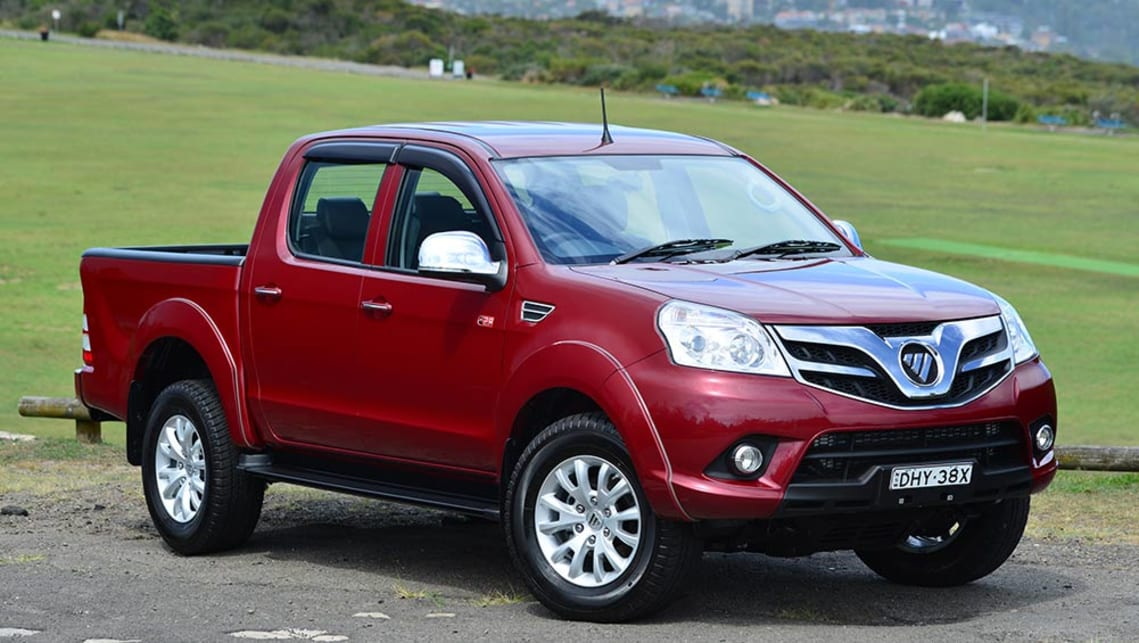 Foton Tunland Dual Cab 4x4 2017 Review Carsguide