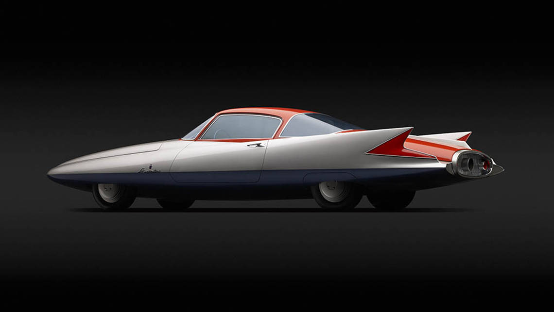 1955 Chrysler Streamline X by Ghia