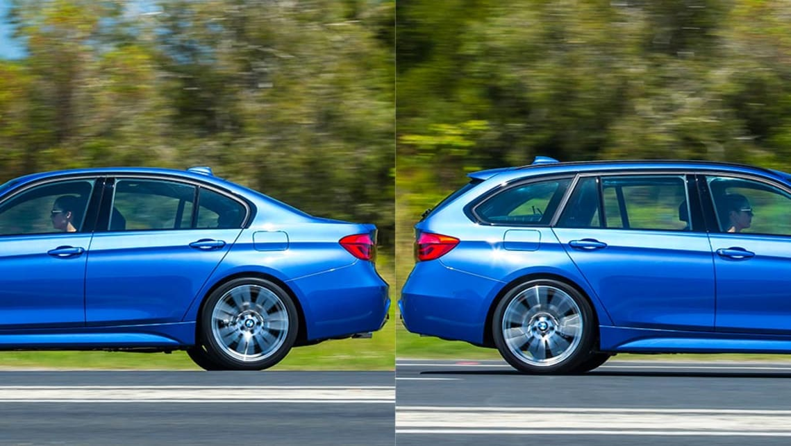 BMW 330i Sedan Vs BMW 330i Touring Review