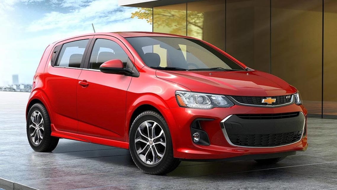 An updated Holden Barina is one of five models to go on sale in the last five months of 2016.
