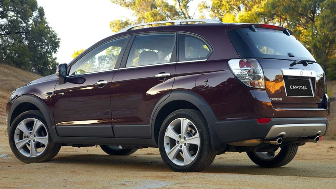 Used Holden Captiva Review 2008 2013 Carsguide