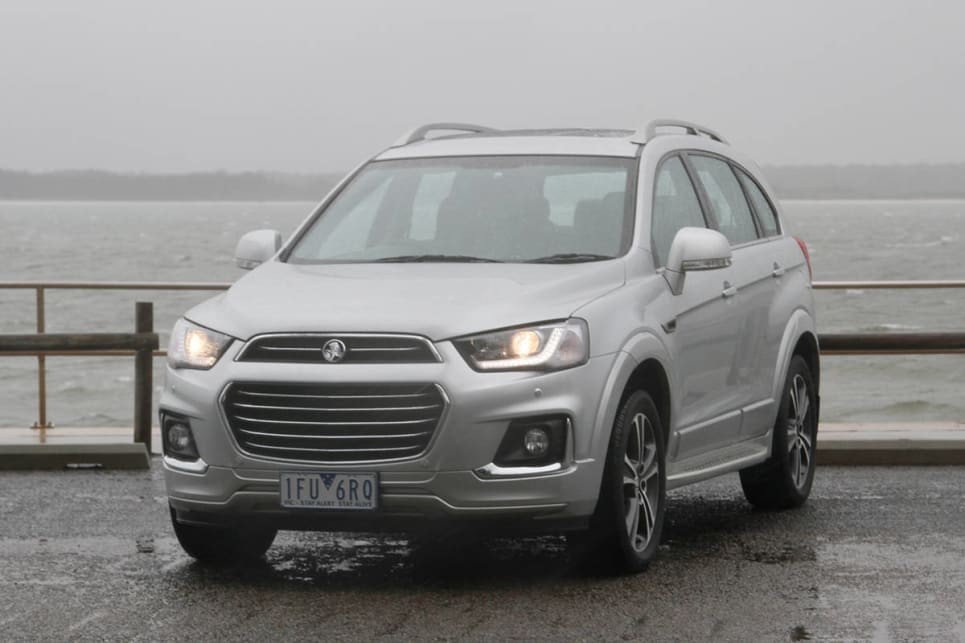 Holden Captiva 2017 review