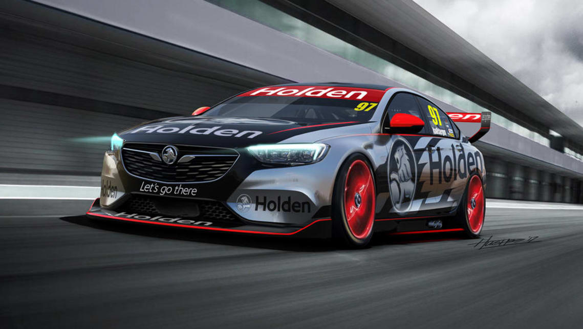 Holden Commodore 2018 Supercars Racer Uncovered Car News