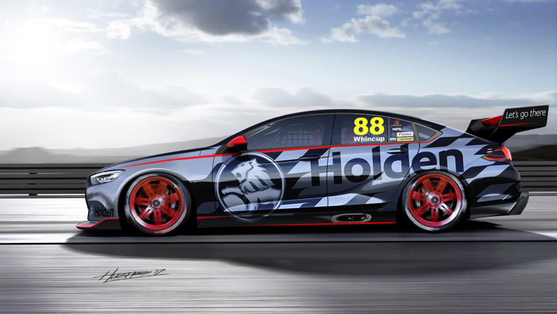 Holden Commodore Supercars Racer Uncovered Car News Carsguide