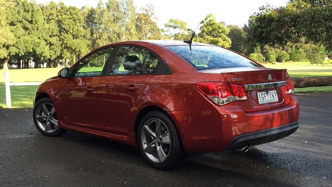 2016 Holden Cruze SRi Z-Series sedan. Picture credit: Richard Berry.