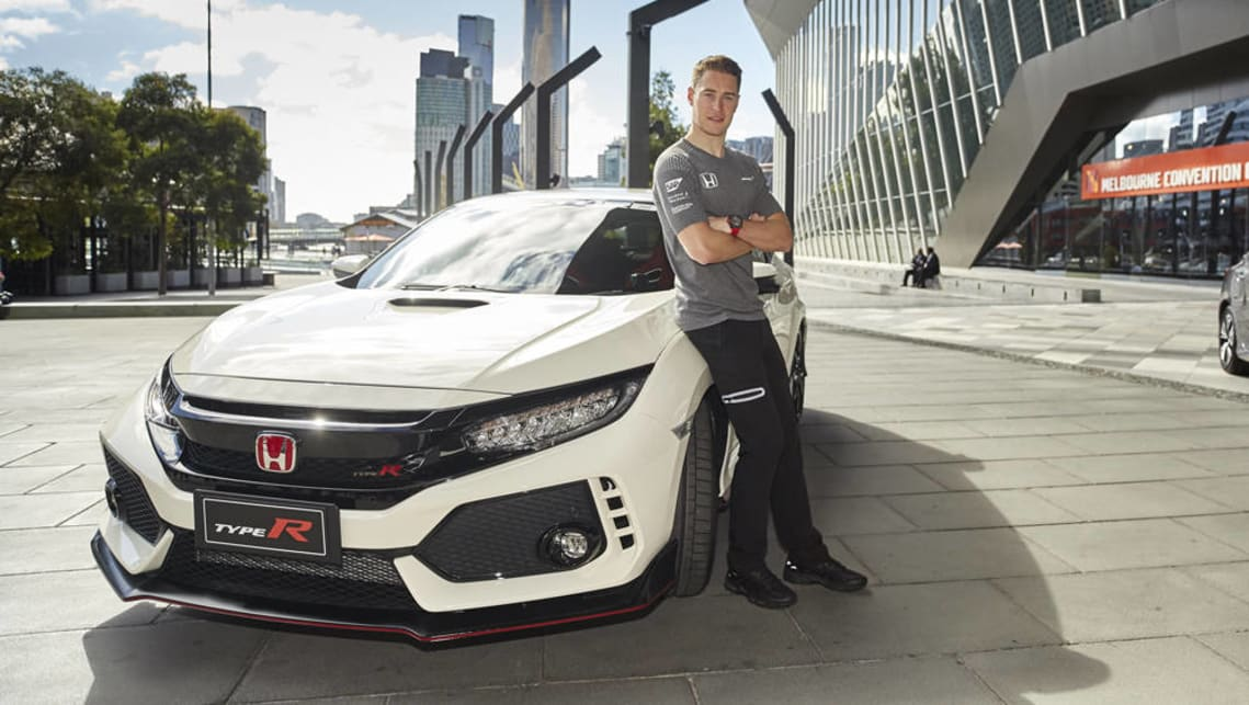 2017 honda civic type r arrives for melbourne grand prix car news carsguide. Black Bedroom Furniture Sets. Home Design Ideas