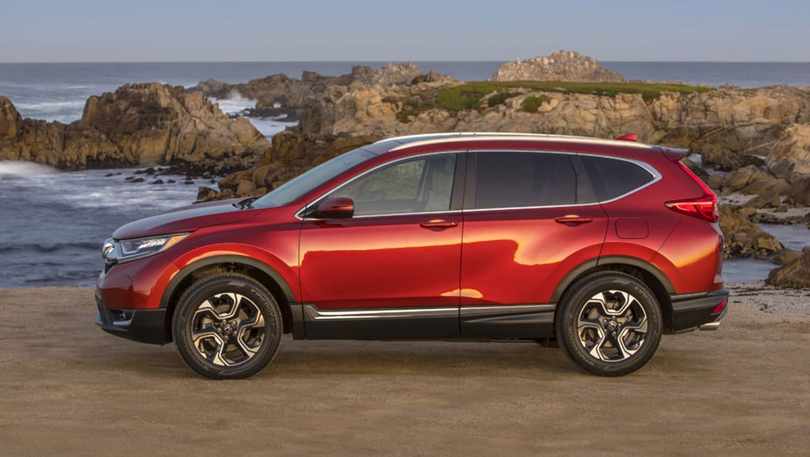 Honda Cr V 2017 Seven Seat Option Confirmed Car News