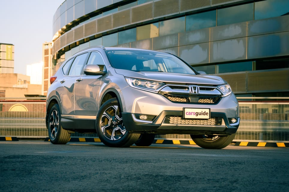The Honda CR-V can be bought in either five- or seven-seat variants.