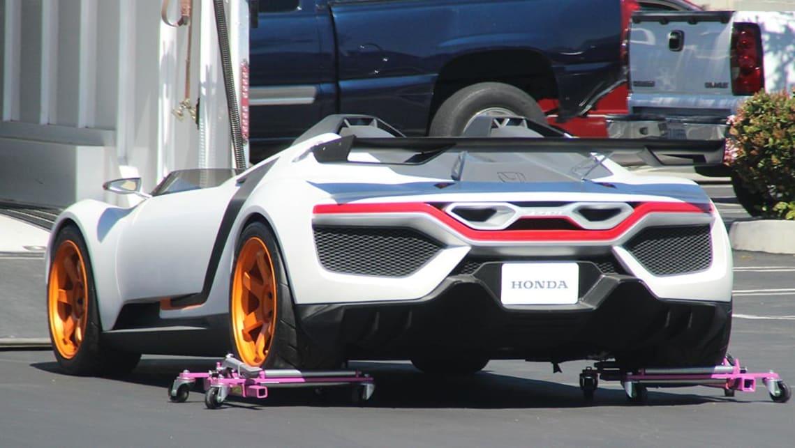 Honda ZSX Concept | spy pics - Car News | CarsGuide