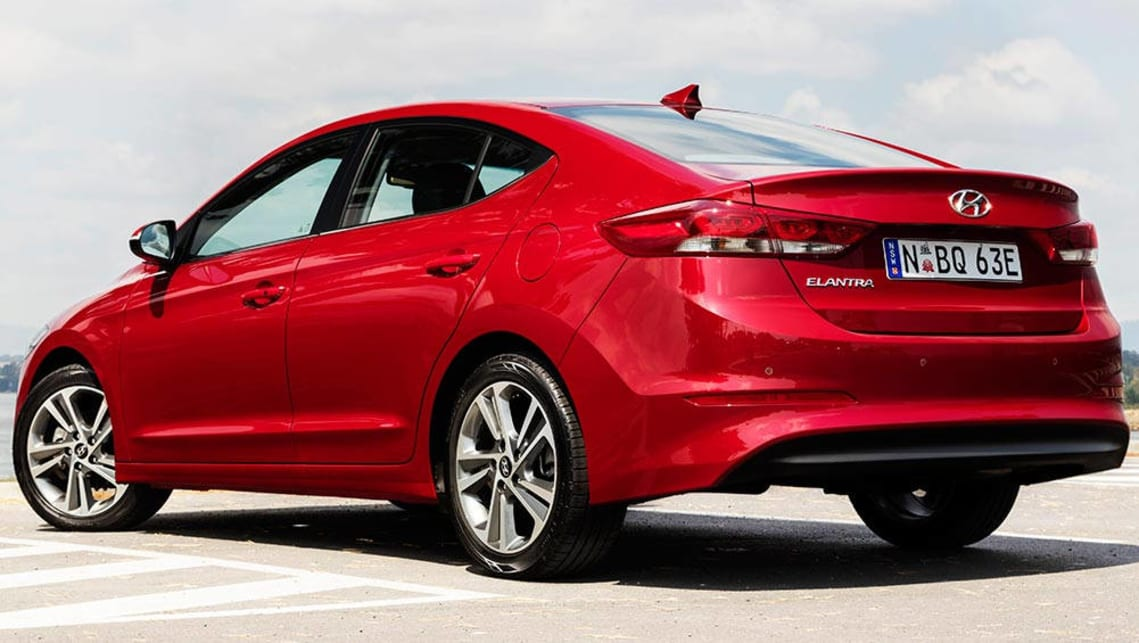 2016 hyundai elantra elite review road test carsguide. Black Bedroom Furniture Sets. Home Design Ideas