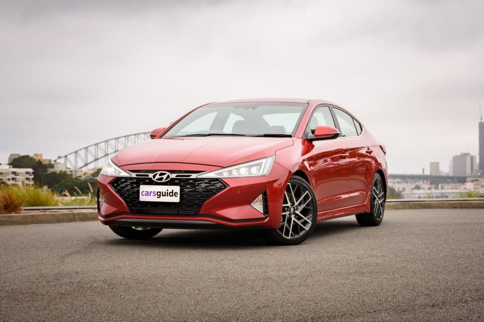 Hyundai Elantra 2019 Review Carsguide