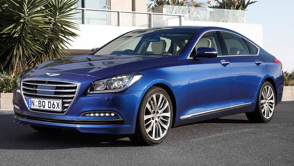 hyundai genesis 2015 review carsguide. Black Bedroom Furniture Sets. Home Design Ideas