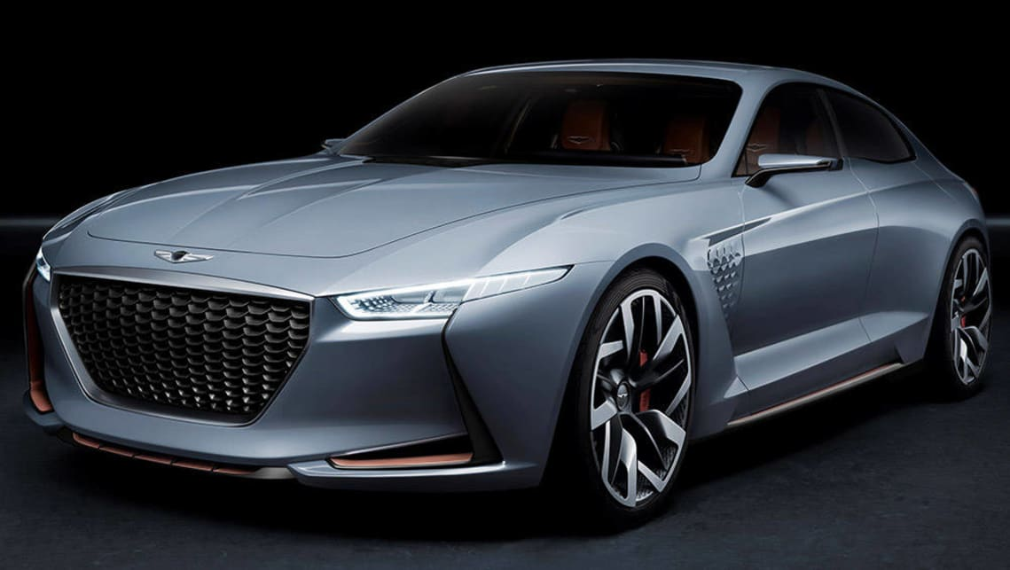 hyundai to take on bmw and benz with genesis g70 concept car news carsguide. Black Bedroom Furniture Sets. Home Design Ideas