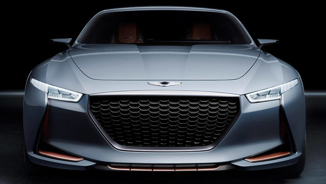 hyundai to take on bmw and benz with genesis g70 concept