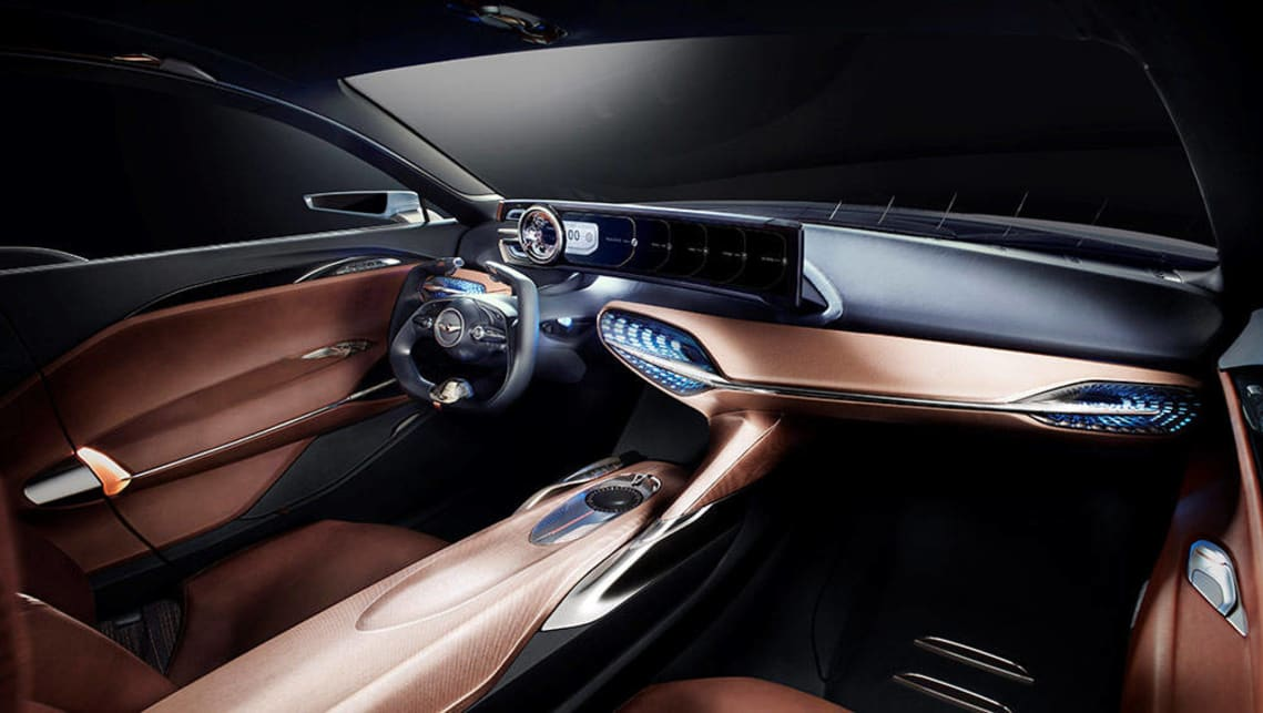 Hyundai to take on BMW and Benz with Genesis G70 concept - Car News | CarsGuide