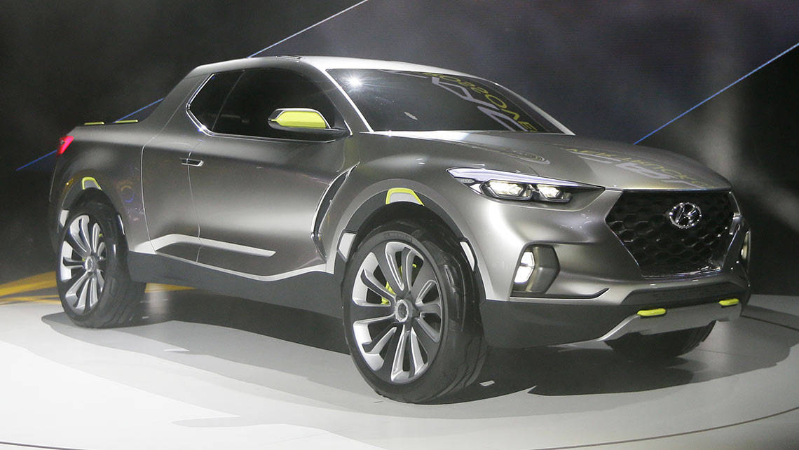 Hyundai Santa Cruz Concept Proves There S Life In The Car Based Ute