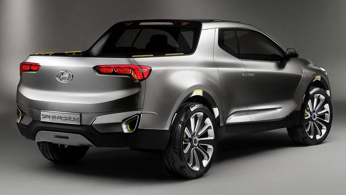 Hyundai Developing Ute To Rival Hilux Car News Carsguide