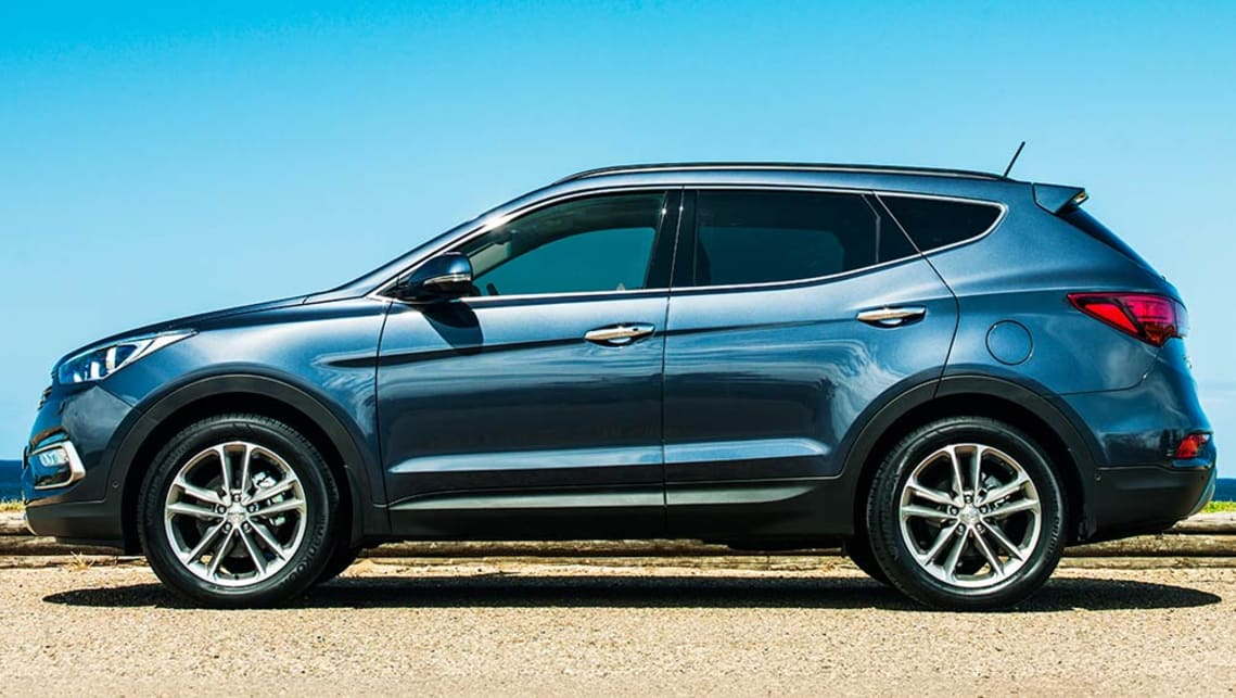2015 Hyundai Santa Fe Series II review | first drive video ...