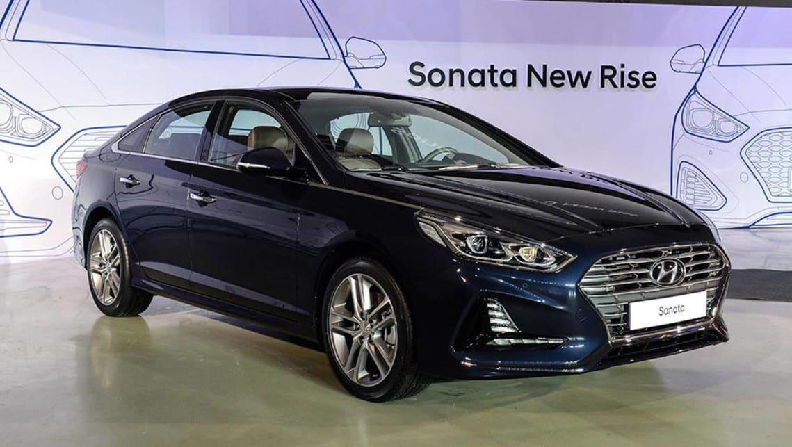 2017 hyundai sonata receives facelift car news carsguide. Black Bedroom Furniture Sets. Home Design Ideas
