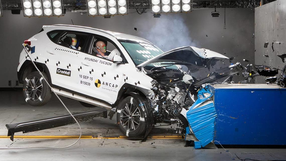 Hyundai Tucson slammed over four star safety rating - Car ...