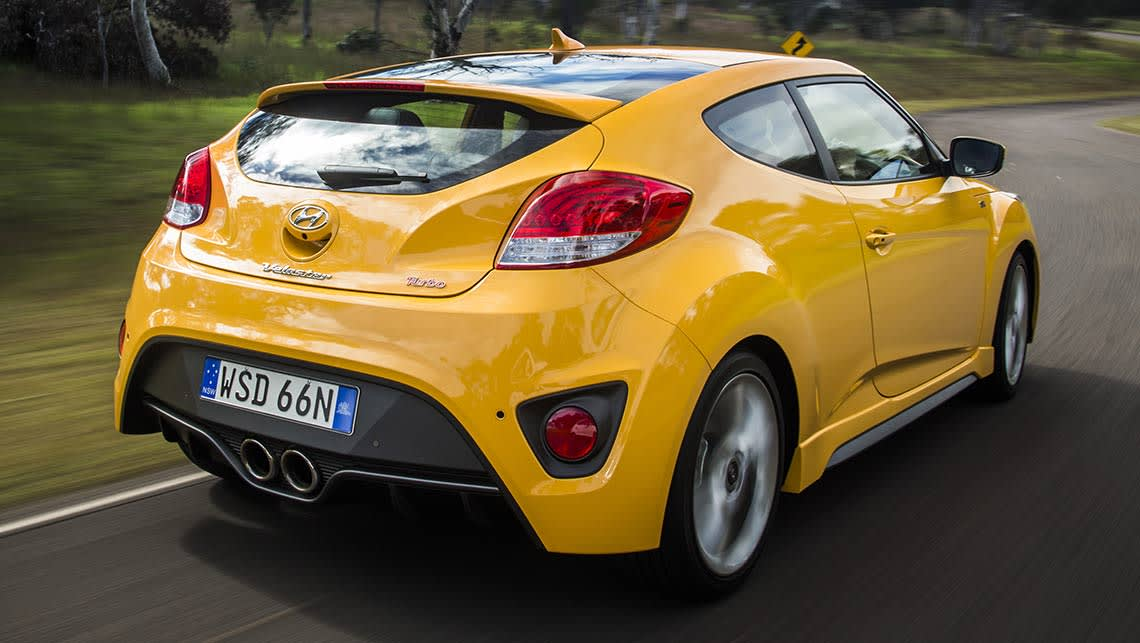 hyundai veloster 2015 review snapshot carsguide. Black Bedroom Furniture Sets. Home Design Ideas