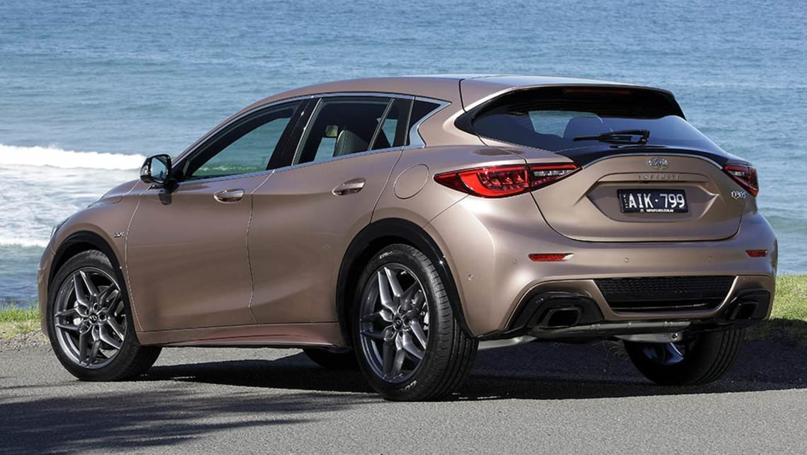 Tesla Sports Car Price >> Infiniti Q30 Sport 2016 review: snapshot | CarsGuide