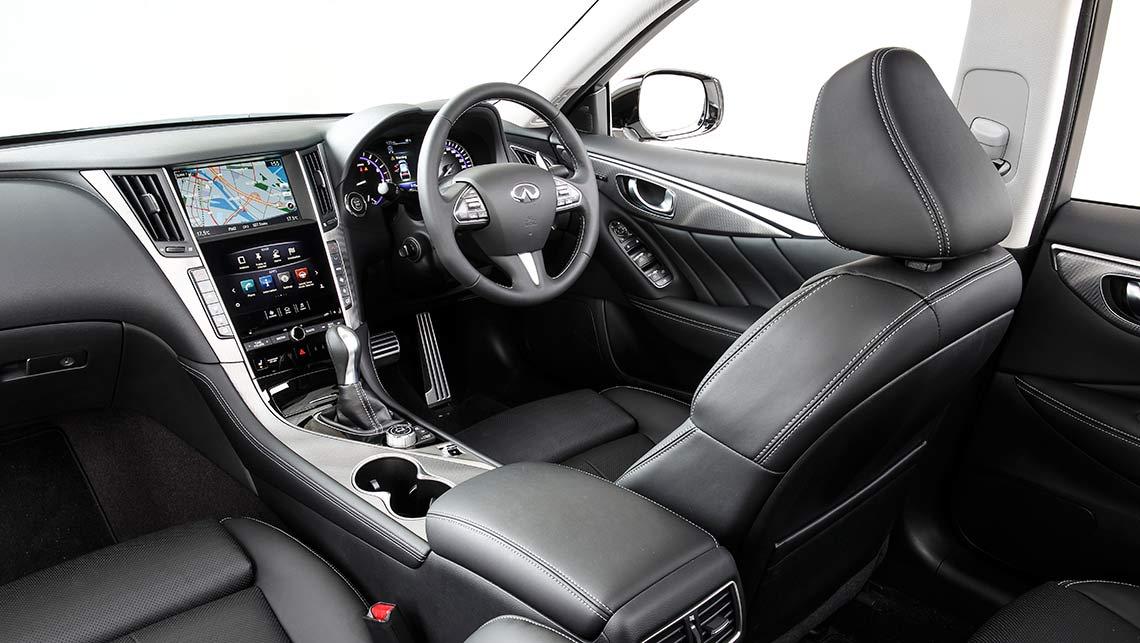 2014 infiniti q50 red interior