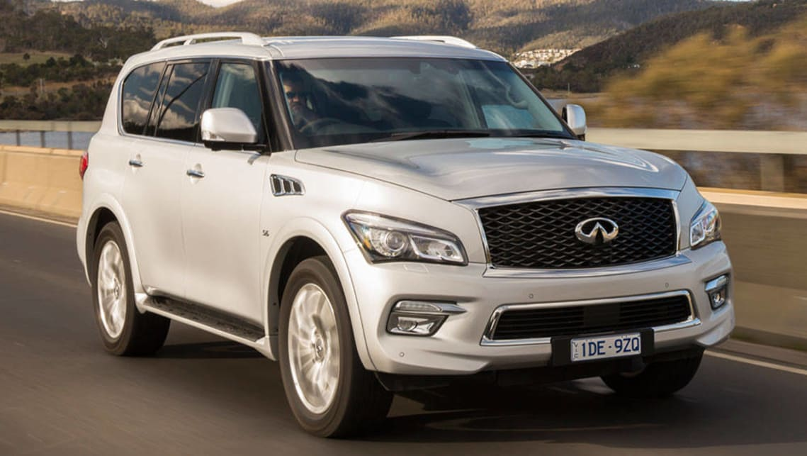 infiniti qx80 2015 review carsguide. Black Bedroom Furniture Sets. Home Design Ideas
