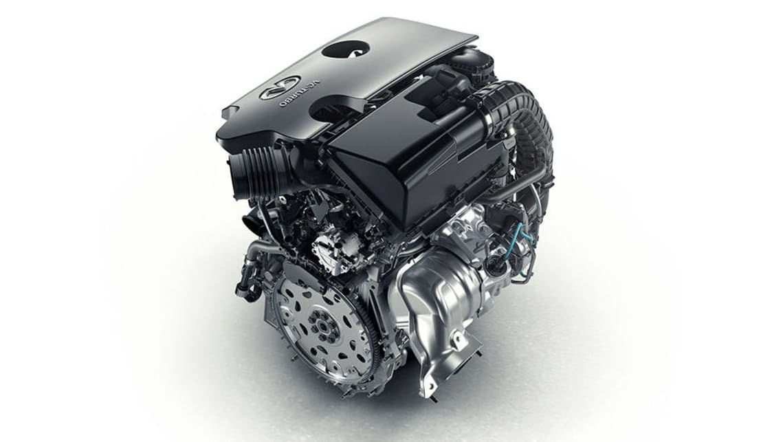 Infiniti's revolutionary VC-T (variable compression ratio) engine.