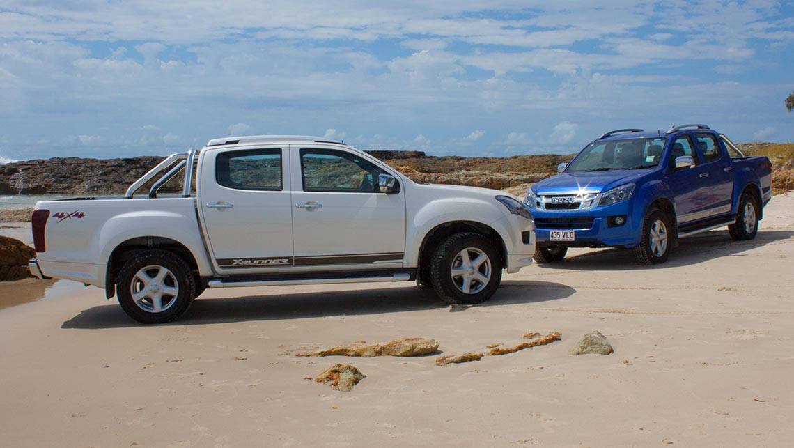 Isuzu D Max And Mu X 2015 Review Carsguide