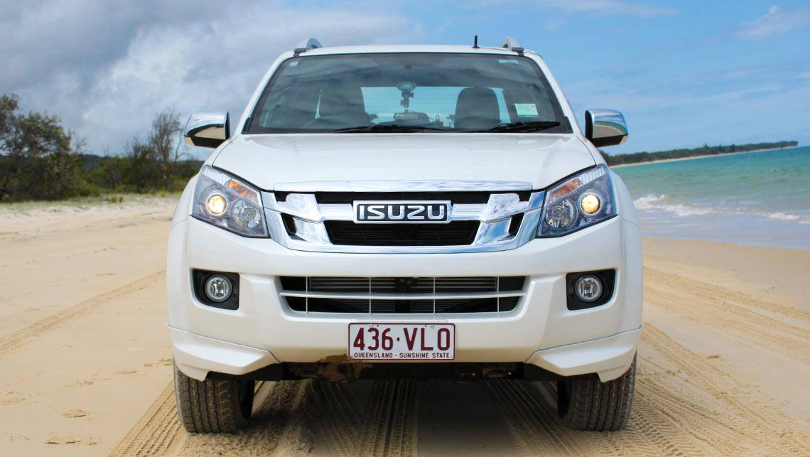 Awesome 2015 Isuzu DMax And MUX Review  Offroad  CarsGuide