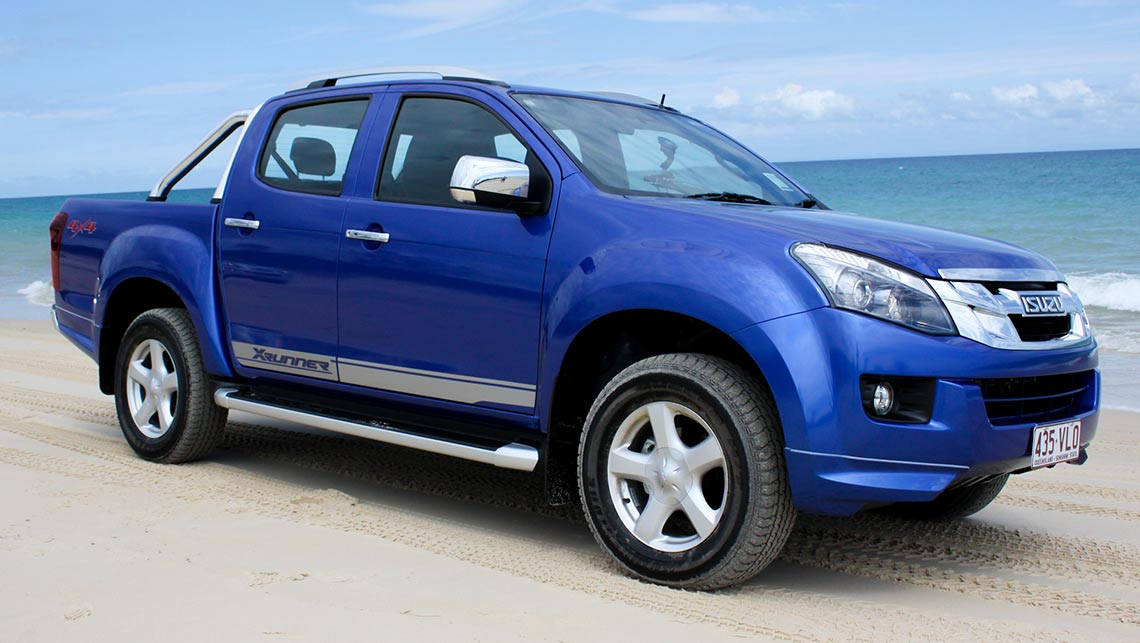 Luxury 2015 Isuzu DMax And MUX Review  Offroad  CarsGuide