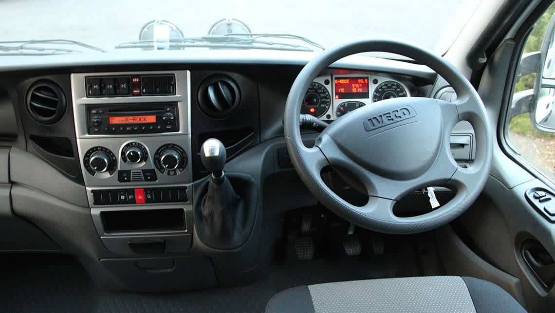 Iveco Daily 4x4 cab-chassis 2015 review | CarsGuide
