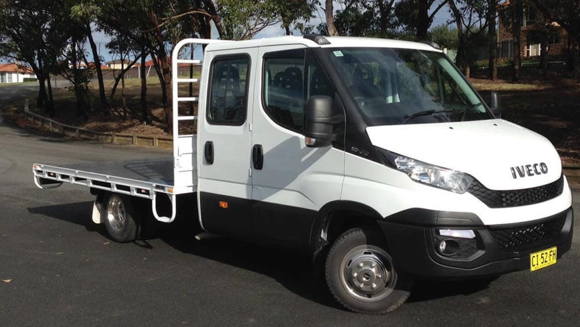 10afef49526c0e Iveco Daily Dual Cab 50C17 Turbo 2016 review