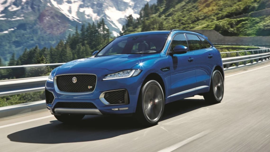 Perfect Jaguar F Pace Wins 2017 World Car Of The Year