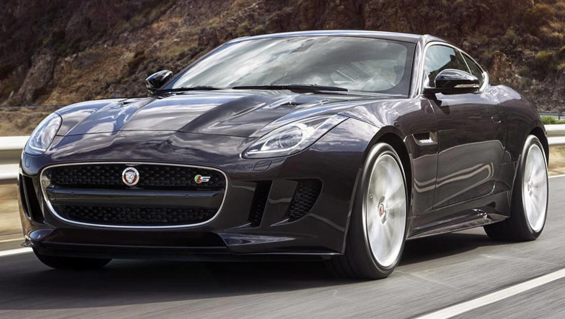 jaguar f type s coupe 2016 review carsguide. Black Bedroom Furniture Sets. Home Design Ideas