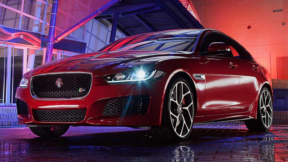 2015 Jaguar XE sedan revealed - Car News | CarsGuide