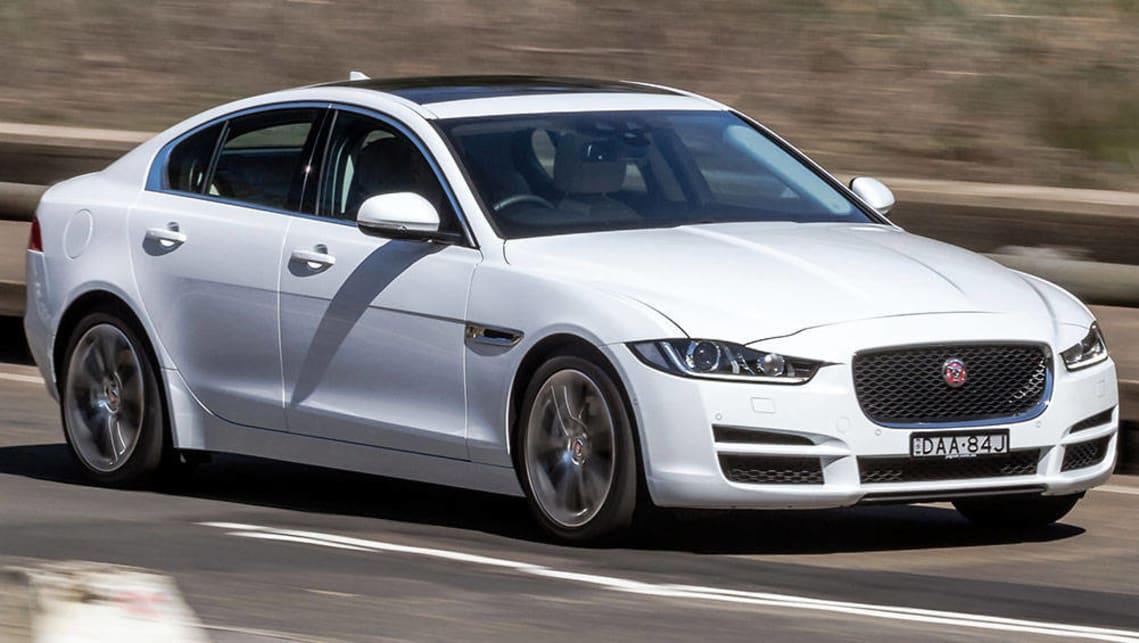 Jaguar XE Prestige D Review CarsGuide - 2015 jaguar xe