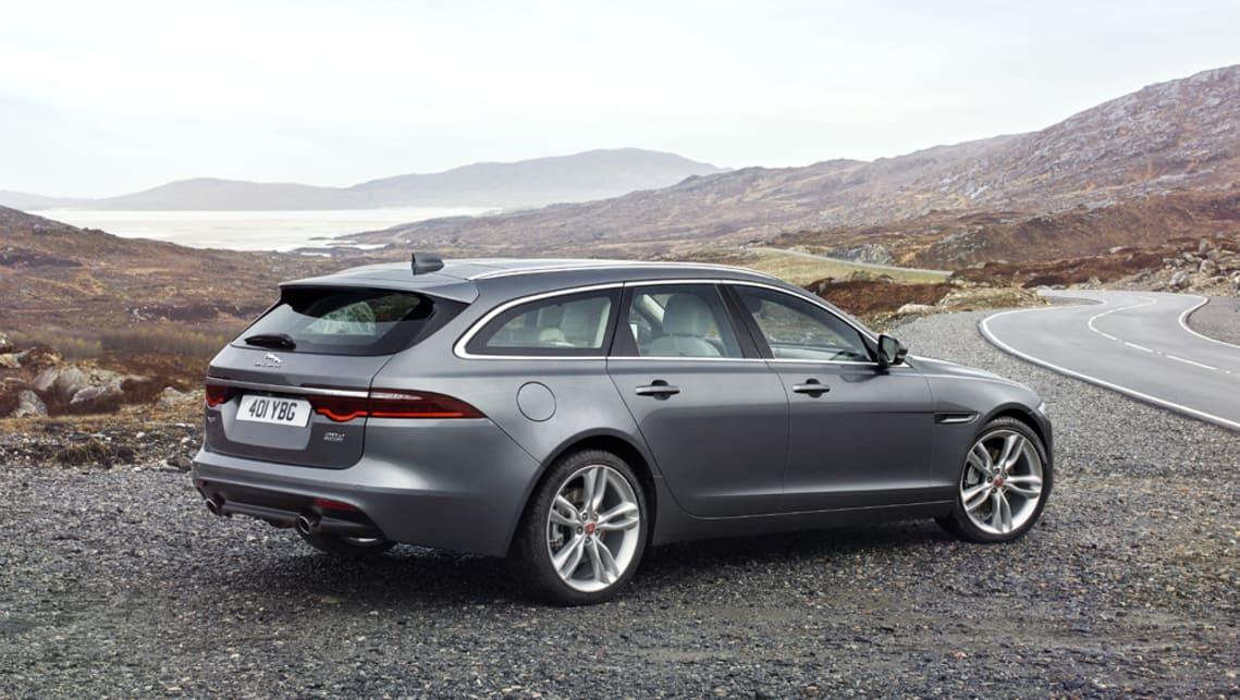 jaguar xf sportbrake 2017 revealed car news carsguide. Black Bedroom Furniture Sets. Home Design Ideas