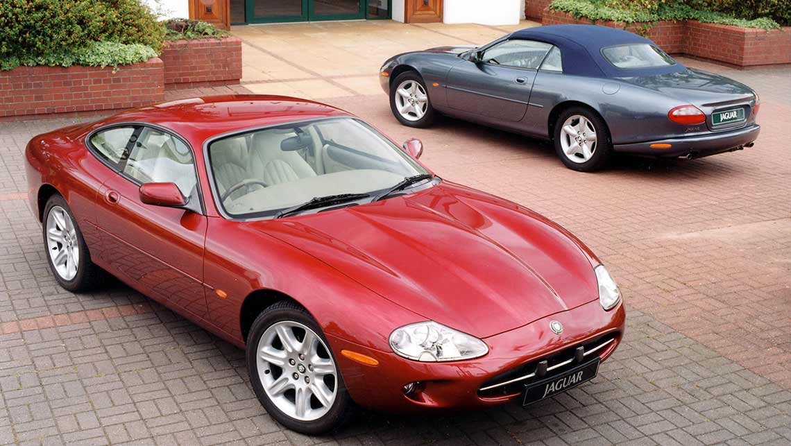 1996 Jaguar XK8 Coupe And Convertible