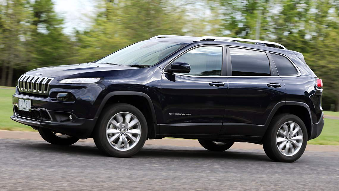 jeep cherokee limited diesel 2014 review road test carsguide. Black Bedroom Furniture Sets. Home Design Ideas