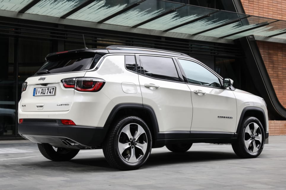 jeep compass 2018 price and specification confirmed car news carsguide. Black Bedroom Furniture Sets. Home Design Ideas