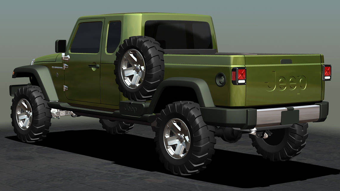 Jeep Wrangler ute in the works - Car News | CarsGuide