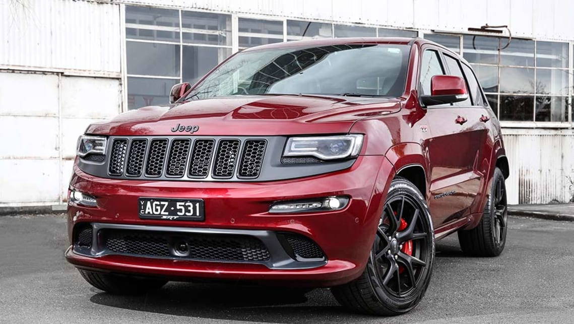 Good 2016 Jeep Grand Cherokee SRT Night.